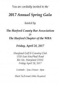 Spring Gala Invite