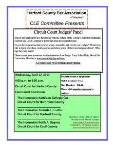 Circuit Court Judges Panel 03-10-17