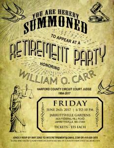 judge carr retirement